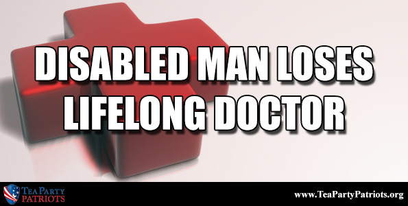 Disabled Man Thumb