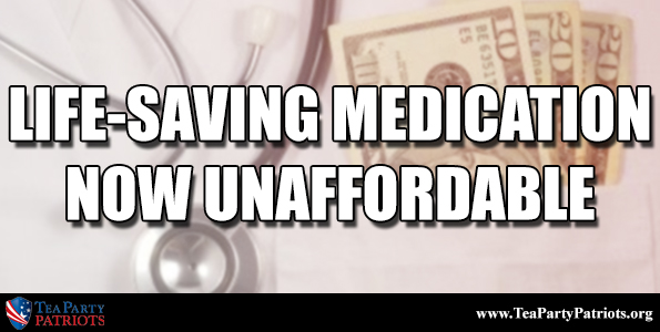 Medication unaffordable