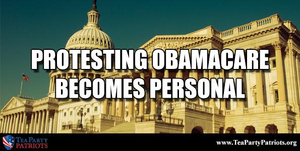 Protesting Obamacare