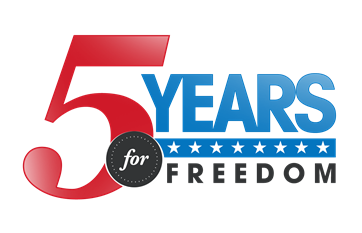 5YearsForFreedomQuarterSize