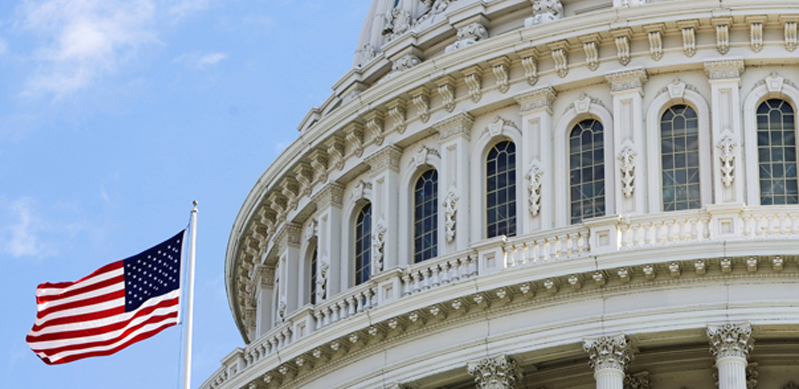 Capitol Building, blue sky