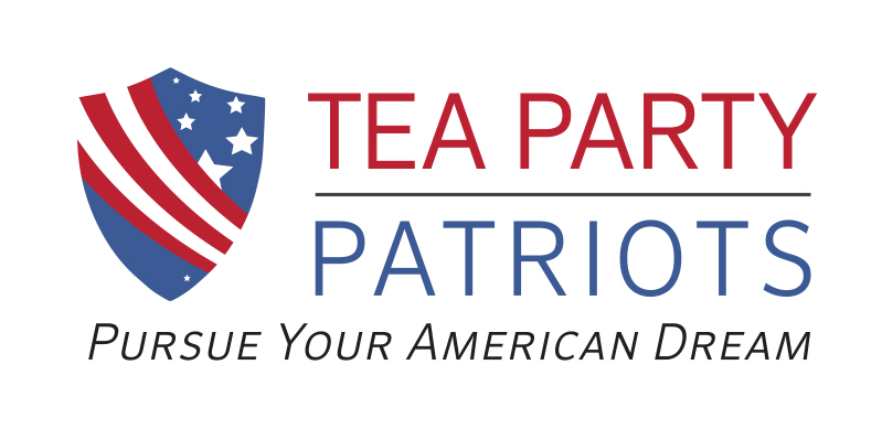 Tea Party Patriots red white blue logo